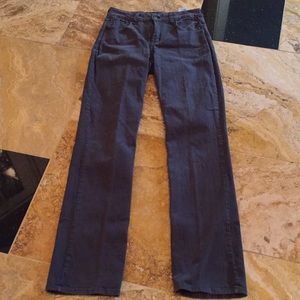 NYDJ Charcoal gray Supersoft stretch straight jean